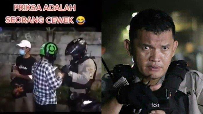 Profil Bripka MP Ambarita, Videonya Viral karena Tak Tahu yang Diperiksa Cewek : Udah Tanggung
