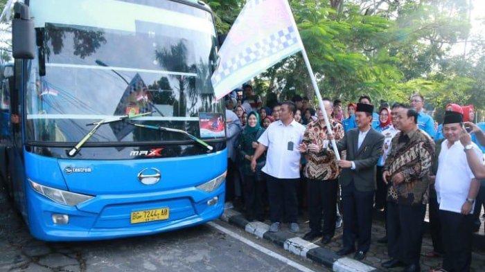 PT SP2J dan Bank SumselBabel Launching BSB Cash di Kampus Universitas Sriwijaya