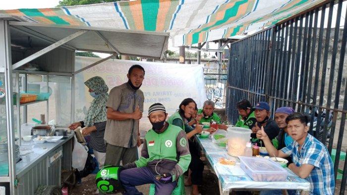 Bubur Ayam Kang Deden 45 Palembang: Promo GoFood & Sedekah Kunci Sukses Berbisnis di Masa Pandemi