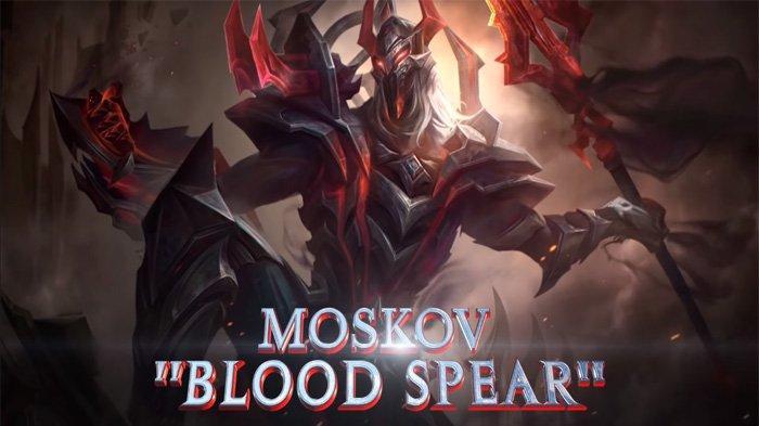 Build Item Moskov Tersakit 2021 Full Damage dari RRQ XINN, Hero Marksman Mobile Legends