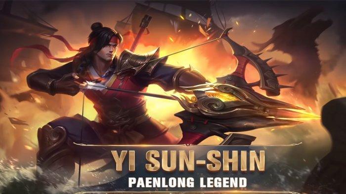 Build Item Anti Mainstream Yi Sun Shin dari RRQ XINNN, Hero Hyper Carry, Bisa Dapat Banyak Kill