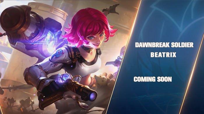 Build Item Hero Baru Mobile Legends Beatrix, Rekomendasi dari Top 1 Global Marksman