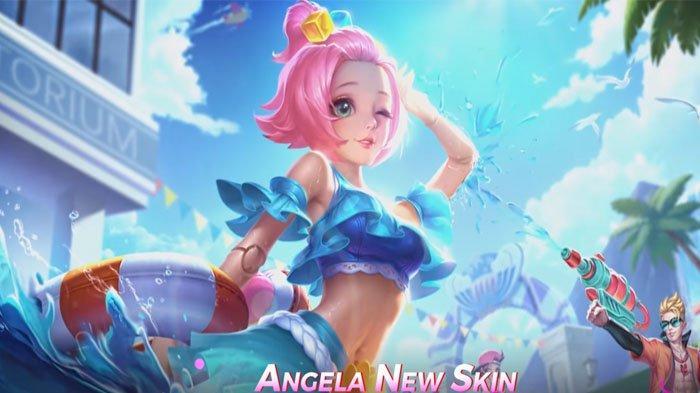 Build Item Wajib Angela, Bisa Memberikan Slow Mevement Super Parah Plus Damage yang Tinggi