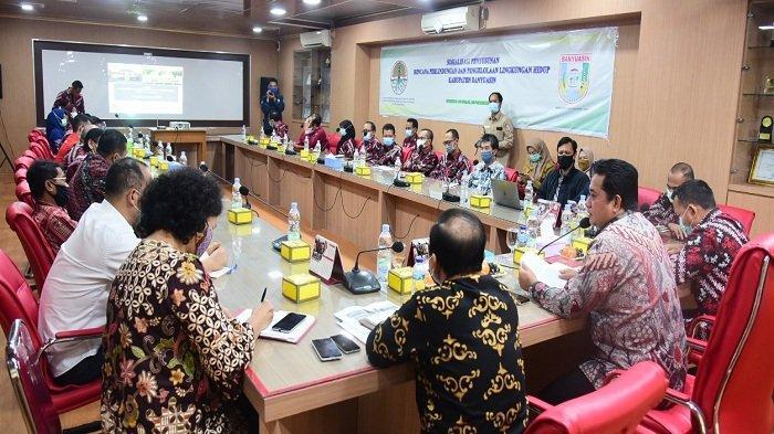 Bupati Banyuasin Buka Sosialisasi RPPLH Kabupaten Banyuasin