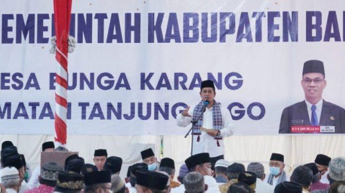 Masyarakat Tanjung Lago Senang Dengan Pembangunan Signifikan Pemkab Banyuasin