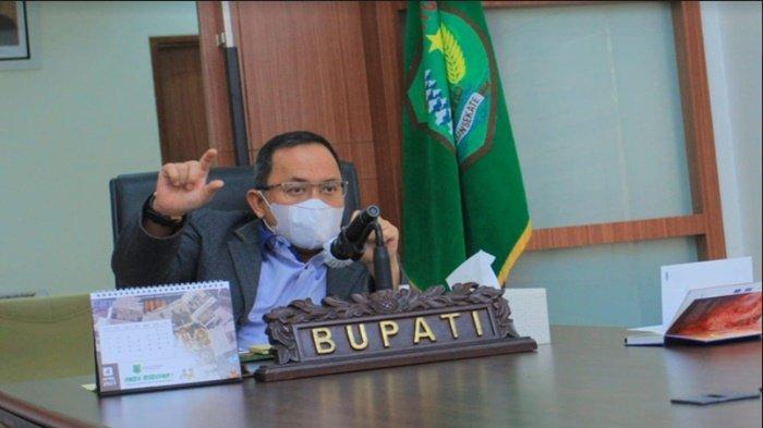 Bupati Musi Banyuasin H Dodi Reza Alex  Tegaskan Warga Muba Dilarang Mudik