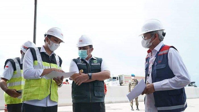 Temui Bos HK di Jakarta, Bupati OI Perjuangkan Exit Tol Indraprabu di Kecamatan Payaraman