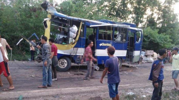 Daftar Lengkap Nama Penumpang dan Korban Kecelakaan Bus Cemerlang di Banyuasin, 3 Meninggal