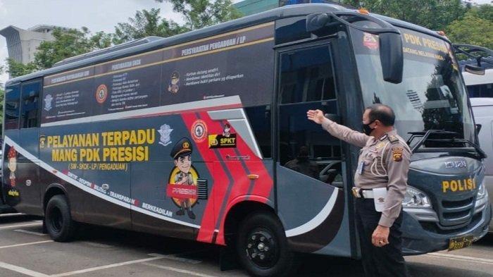 Melihat Bus Pelayanan Terpadu Mang PDK Presisi, Berikan Tiga Layanan Sekaligus