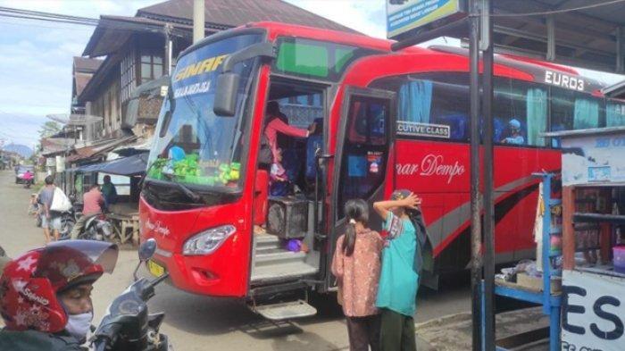 Daftar dan Jadwal Keberangkan Bus AKAP Jurusan Empat Lawang - Jakarta