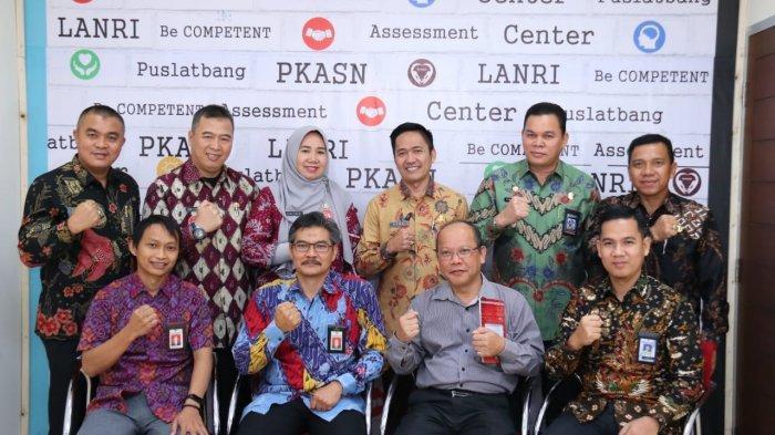 6 Calon Sekda Kota Palembang Tes Assesment Lembaga Administrasi Negara, Seminggu Lagi Hasil Keluar