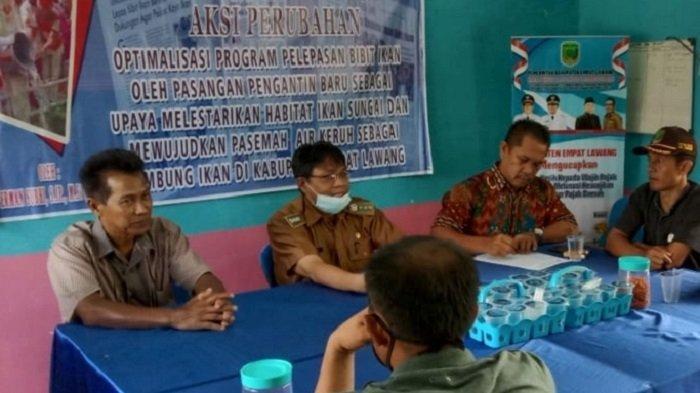 Jabatan 9 Kades Habis, Camat Paiker Empat Lawang Lakukan Pendataaan Aset