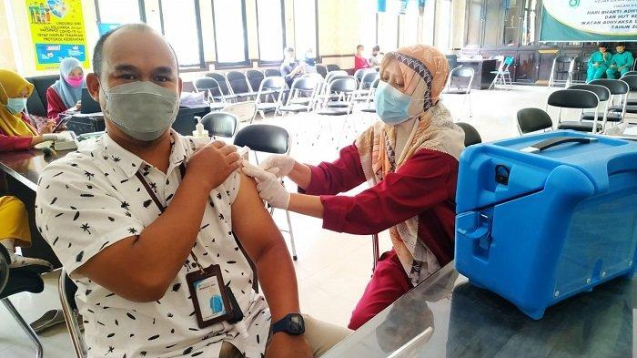 Capaian Vaksinasi di Kota Pagaralam Sudah 39  Persen, Dinkes Sebut Warga Mulai Sadar