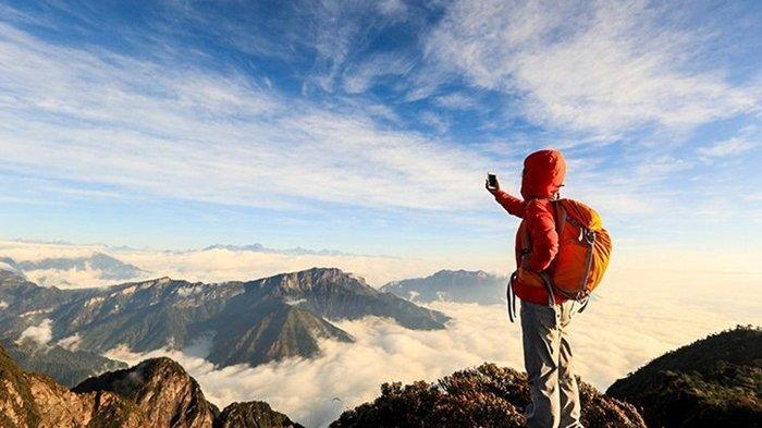 Caption Cara Mendaki Gunung Bagi Pemula