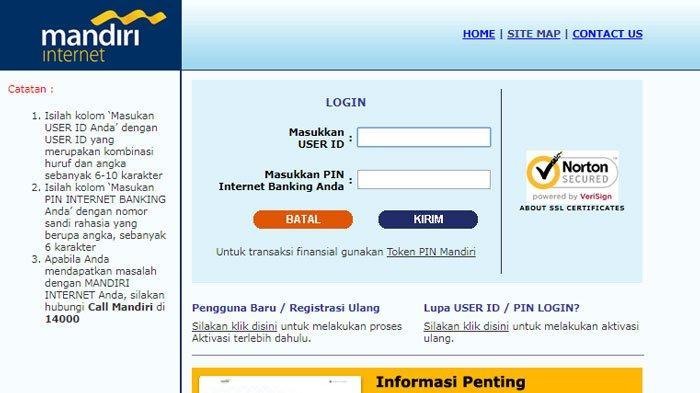 Cara Aktivasi Dan Mendaftar Mandiri Internet Banking Token Lewat Atm Dan Kantor Cabang Mudah Tribun Sumsel