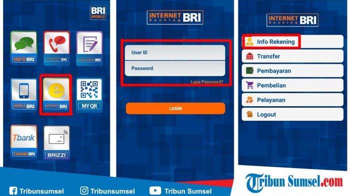 Cara Mendaftar Dan Aktivasi Bri Internet Banking Agar Dapat Transaksi Menggunakan Hp Android Tribun Sumsel
