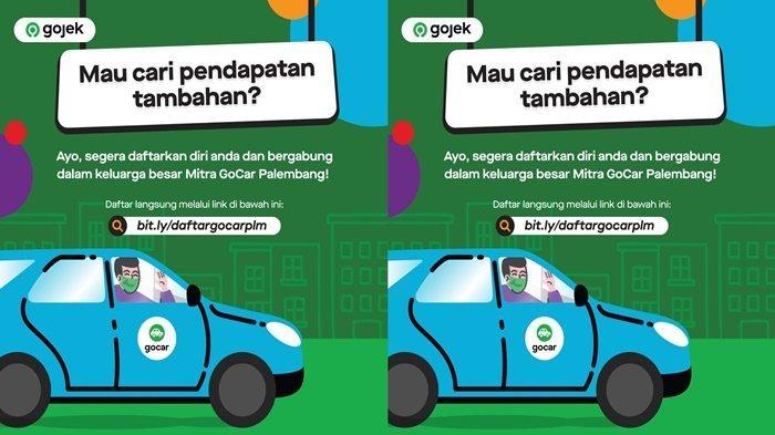 Bingung Cari Kerja? Yuk, Gabung Jadi Mitra GoCar Palembang!
