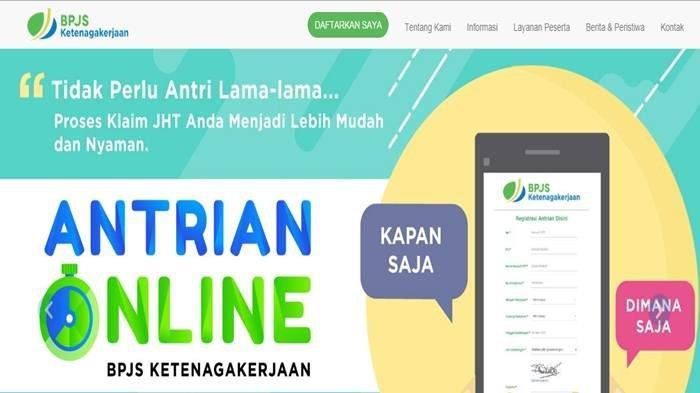 Cara Mencairkan Jht Bpjs Ketenagakerjaan Secara Online Pakai Aplikasi E Klaim Tidak Perlu Ke Kantor Tribun Sumsel
