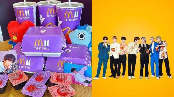 Cara Membeli BTS MEAL Limited Edition dengan 4 Menu Istimewa, Penuhi Persyaratan Berikut