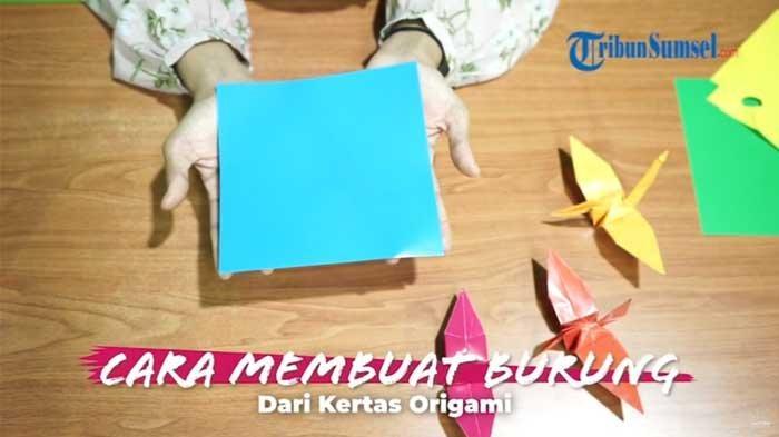 Cara Membuat Tirai dari Burung Kertas Origami untuk Pintu Kamar dan Ruang Bermain Anak, Ini Bahannya