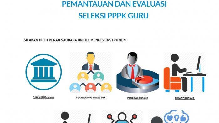 Cara Daftar Peserta dan Isi Identitas Monev PPPK Guru 2021 di Link monevpppk.siptk.app