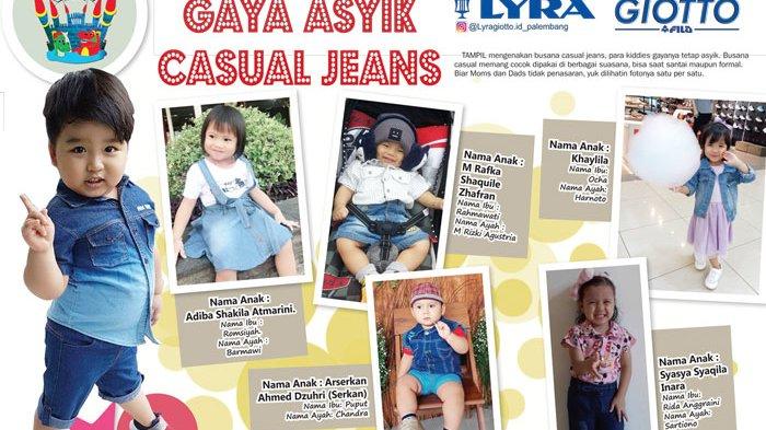 Yuk, Lihat Gaya Kece Si Kecil Kenakan Casual Jeans