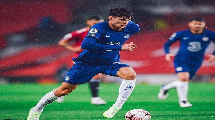Live Streaming Chelsea vs Manchester City, Frank Lampard Kembali akan Cadangkan Kai Havertz