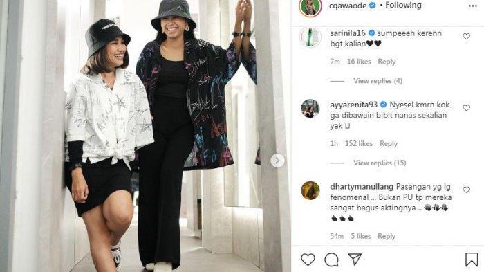 Chika Waode dan Ayya Renita dipuji artis senior Dharty Manulang