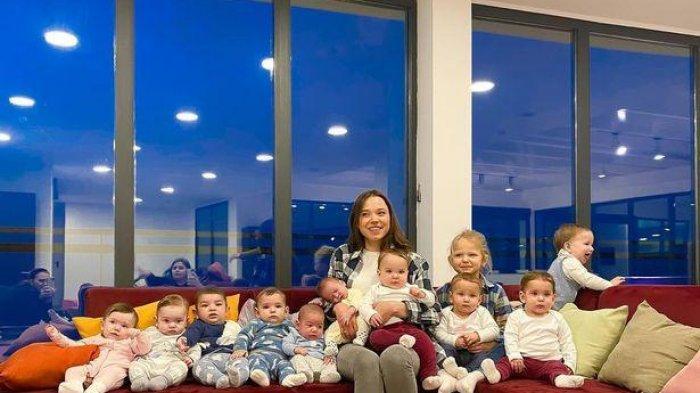 Kisah Wanita Berumur 23 Tahun yang Kini Sudah Memiliki 11 Anak, Ngaku Masih Belum Puas