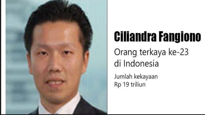 Mengenal Sosok Ciliandra Fangiono, Paling Muda di Daftar 50 Orang Terkaya di Indonesia