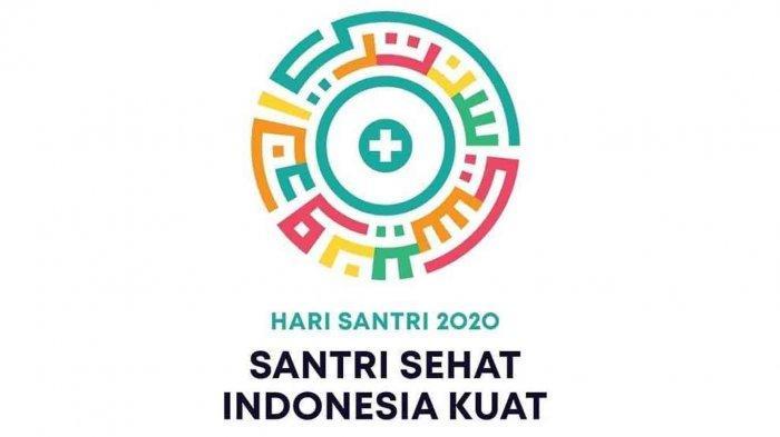 LINK Download Logo dan Tema Hari Santri Nasional 2020 Format PNG dan JPG -  Tribun Sumsel