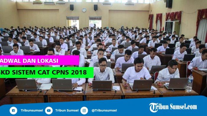 Penetapan NIP CPNS 2018, Baru 4 Kabupaten/Kota di Sumsel yang Telah Ditetapkan BKN Palembang