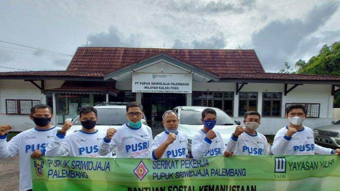 Pusri Peduli Korban Banjir di Kalimantan Selatan