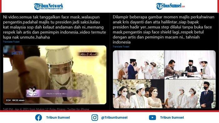 Kontroversi & Diprotes di dalam Negeri, Pernikahan Atta Aurel Malah Diapresiasi Warganet Malaysia