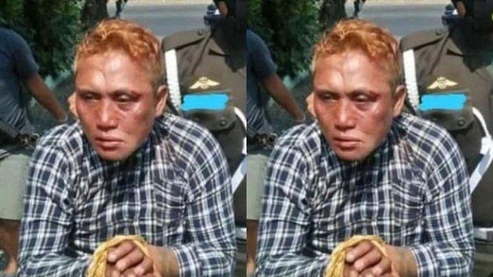 Garang di Awal, Preman Dadang Buaya Penyerang Koramil dan Polsek Garuk Menciut Saat Ditangkap
