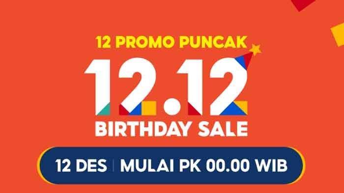 Daftar 12 Promo Shopee 12.12, Flash Sale iPhone11 Pro Rp 12 Ribu, Gratis Ongkir Rp 0 Hingga 120RB