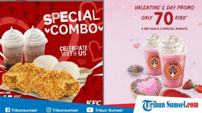 Daftar 8 Promo Hari Valentine 14 Februari 2020, Ada Promo KFC, J.CO, McDonald Hingga Burger King