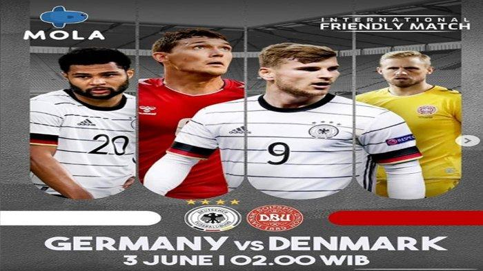 Jadwal Siaran Langsung Sepakbola Malam ini : Inggris vs Austria, Jerman vs Denmark, Prancis vs Wales