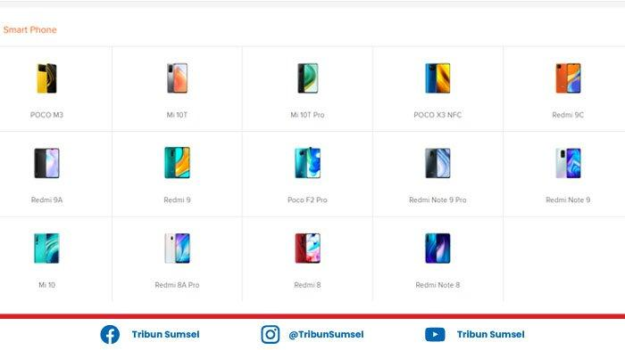Daftar Harga HP Xiaomi Redmi 2021