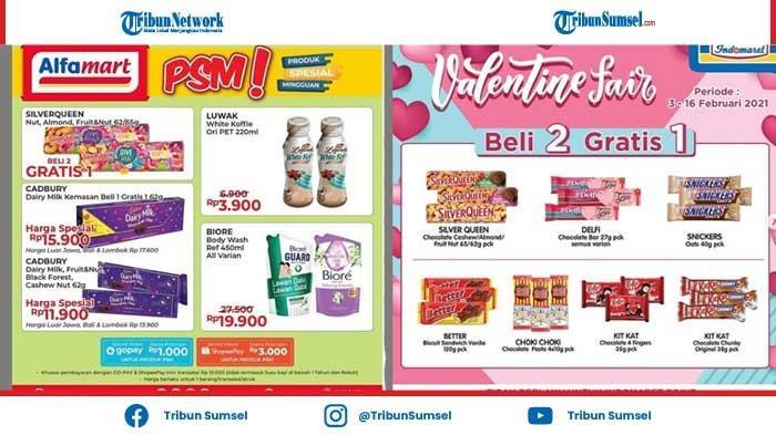 Daftar Promo Coklat Silver Queen Hari Valentine 14 Februari 2021 di Alfamart dan Indomaret