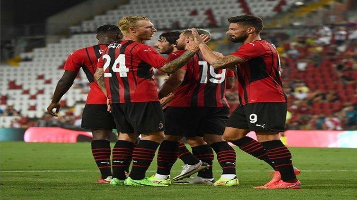 Daftar Skuad AC Milan Liga Italia Musim 2021-2022, Lengkap dengan Posisi dan Nomor Punggun