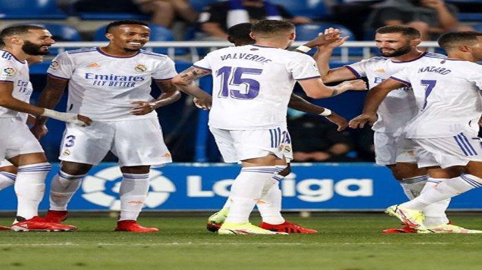 Daftar Skuad Real Madrid Musim 2021-2022 di Liga Spanyol, Lengkap Posisi Bermain dan Nomor Punggung