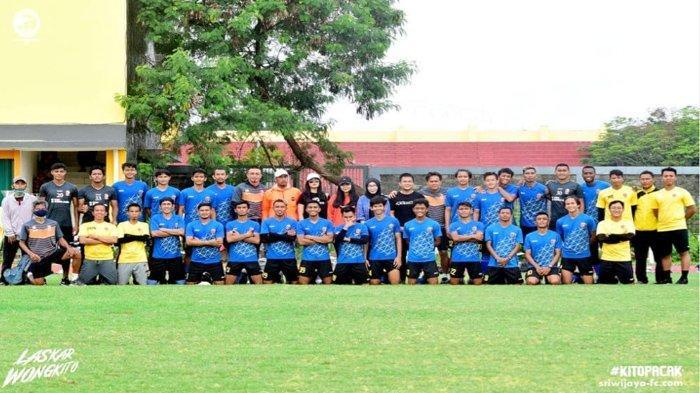 Daftar Sementara Pemain Sriwijaya FC di Liga 2 Musim 2021, Kombinasi Senior Junior