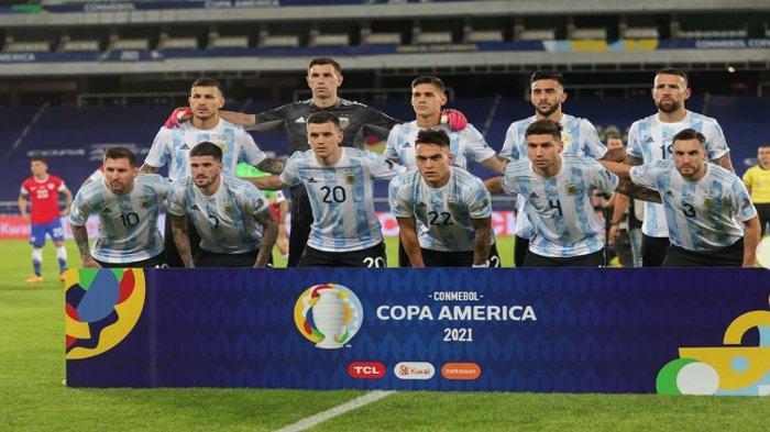 Daftar Pemain Timnas Argentina, Asal Klub, Posisi Bermain, Hingga No. Punggung di Copa America 2021