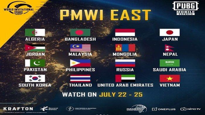 Daftar Tim Peserta PUBG Mobile World Invitational (PMWI) 2021 Zona Timur, Indonesia Bigetron RA