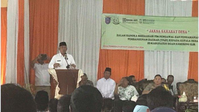 Program Jaksa Masuk Desa,Dampingi Kepala Desa di OKI Supaya Jangan Takut Kelola Dana Desa