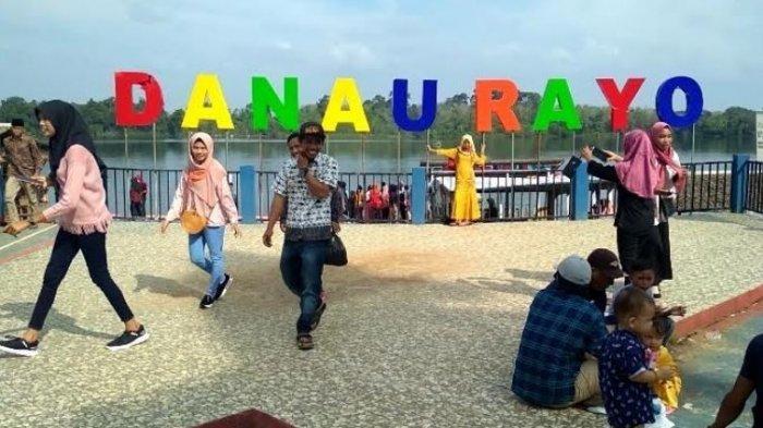 Danau Rayo Muratara Ramai Dikunjungi di Hari Libur Lebaran Idul Adha 2020