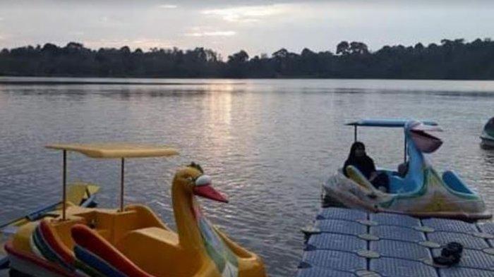 Biasanya Ramai, Danau Rayo Muratara Akhir Pekan Ini Sepi Kunjungan Wisatawan