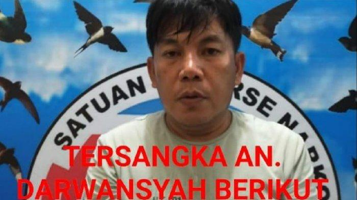Simpan Sabu di Senapan Angin, Darwansyah Oknum PNS Lahat Digerebek di Rumahnya