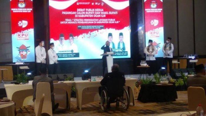 Singgung Makanan di Debat Pilkada Ogan Ilir 2020, Ilyas Suka Pindang Meranjat, Panca Kemplang